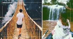 Những dòng thác tuyệt đẹp tại Đà Lạt