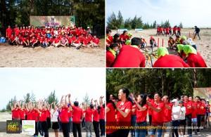 to-chuc-team-building-tai-bien-ho-coc