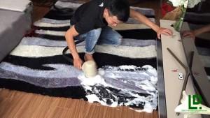 dịch vụ giặt thảm trang trí tại nhà giá rẻ ở LONG AN